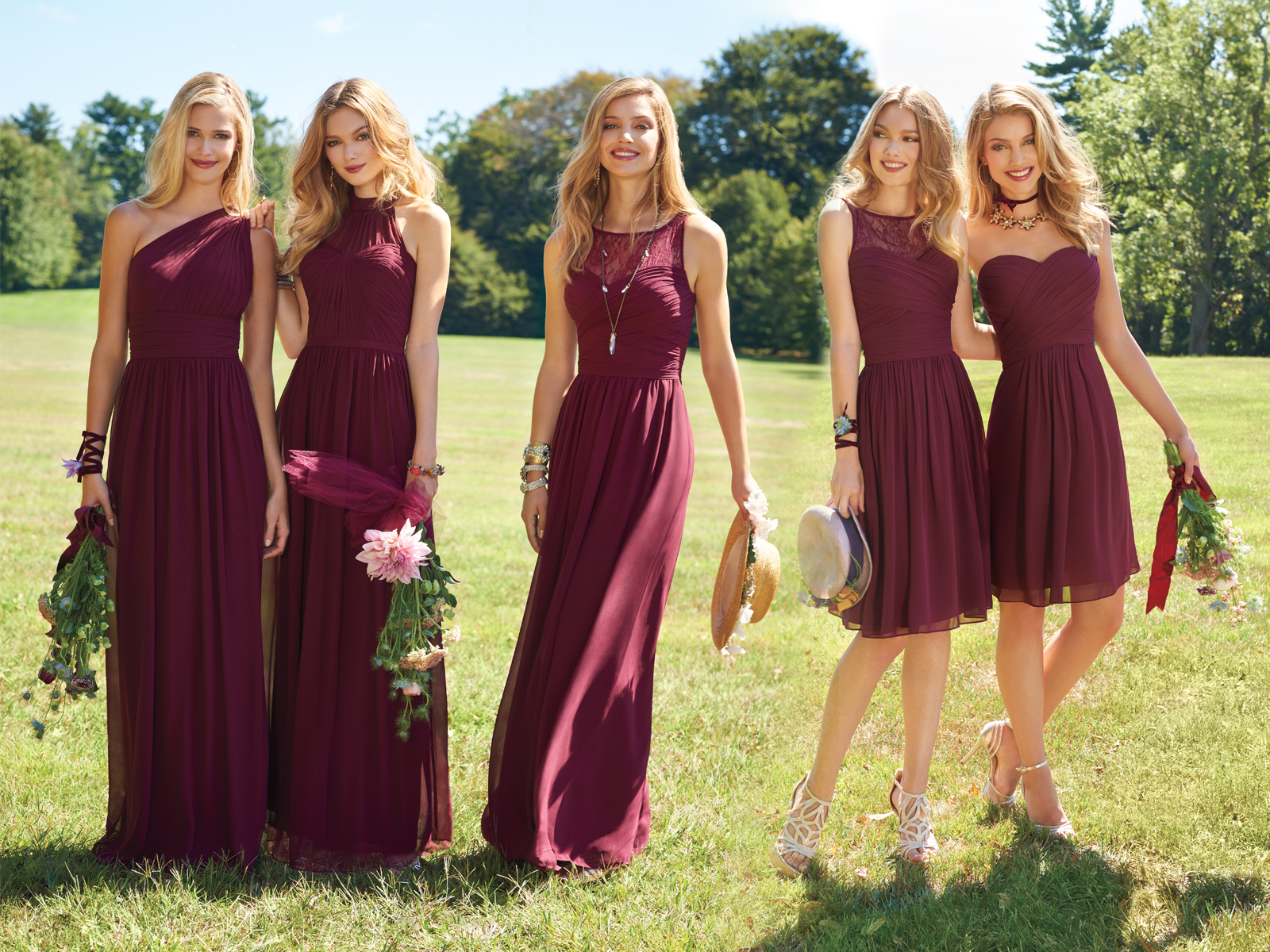 Bridesmaid Dresses by Camille La Vie