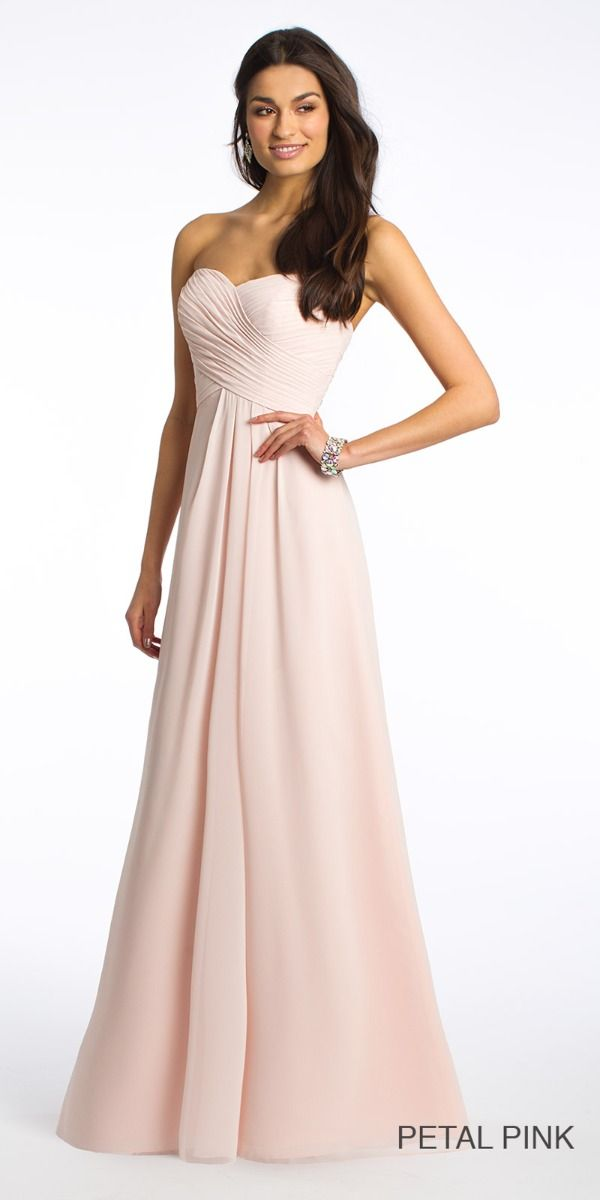 5aa2b1af067 Strapless Crisscross Bodice Dress from Camille La Vie and Group USA
