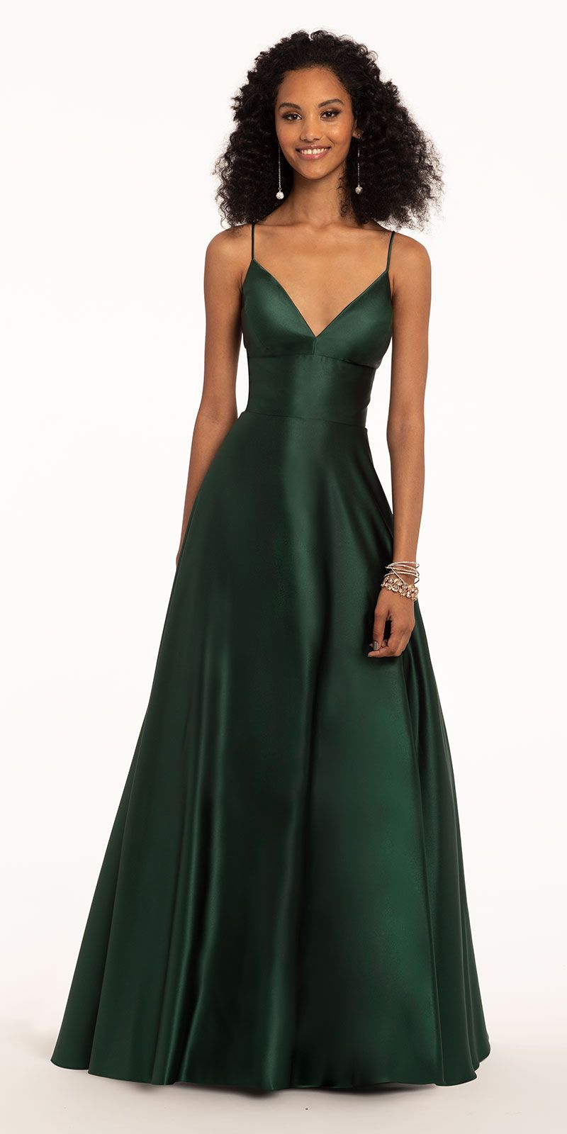 efe0d225ec30 Satin Spaghetti Slip Ball Gown from Camille La Vie and Group USA