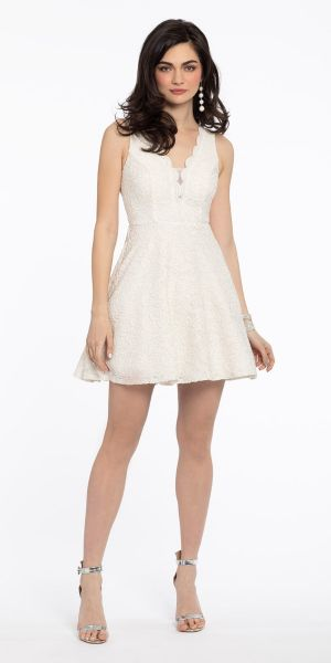 ac3286e9eb Short Lace Party Dress
