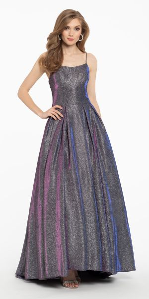 611564277aa8 Two Tone Shimmer Slip Ball gown