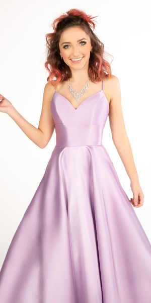 0936724f4 Sweetheart Mikado Open Back Ball Gown